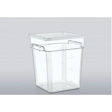 12LSC Крышка для контейнера для продуктов из поликарбоната на 11,4 л/17,2 л/20,8 л GastroPlast