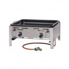 154618 Сковорода газовая Bake Master MAXI GN2/1 - настольная, 9.2кВт, 650x540x300 мм Hendi