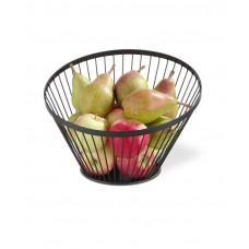 Купить 427088 Корзина для фруктов чёрная - ø280x(H)130 mm Hendi (Хенди)