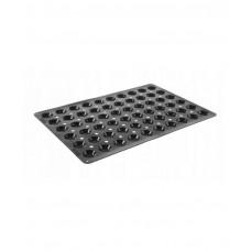 676240 Форма силиконовая Mini-tartelette, ø45x16 мм, 60 ячеек Hendi