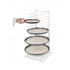 Купить 810361 Стеллаж для сеток/противней для пиццы - 300x305x(H)680 mm Hendi (Хенди)