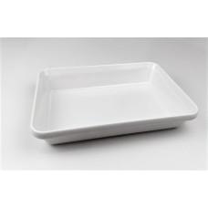 Купить с доставкой Блюдо для выкладки продуктов One Chef из меламина (300x190x55 мм), белое K6312 W