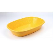 Купить с доставкой Блюдо овальное из меламина 35х24,7х6,9 см, песочное CJ286-13.8 S