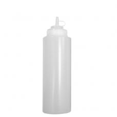 Бутылка для соусов с мерной шкалой 240 мл прозрачная LBSD8C