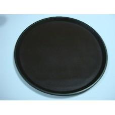Поднос круглый (коричневый) 28*2,2 см A8-620C