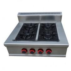 Профессиональная газовая настольная плита CPG-700-4T Rauder