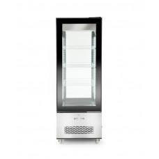 233276 Витрина холодильная 400 л, 650x650x1908 мм Hendi