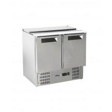 Купить 236161 Hendi (Хенди) 2-дверный стол для охлаждения салата с откидной крышкой