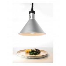 273869 Коническая лампа для подогрева блюд с регулируемой высотой (серебряная) Hendi