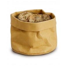 429228 Крафт-бумажный мешок для хлеба - бежевый, 170x170x150 мм Hendi