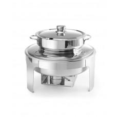 470244 Мармит для супов - зеркальная отделка, 10 л, ø420x380 мм Hendi