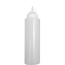 Бутылка для соусов с мерной шкалой 360 мл прозрачная LBSD12C