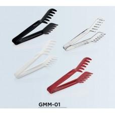 GMM-01B Щипцы для спагетти из поликарбоната, черные 220 мм GastroPlast