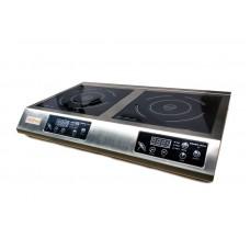 Индукционная плита профессиональная двойная IC30 DOUBLE GoodFood