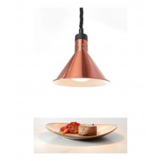 273876 Коническая лампа для подогрева блюд с регулируемой высотой - медная, 250 Вт Hendi