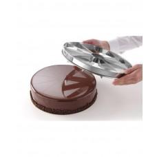 512517 Маркер для тортов делитель для тортов ø320 - 12 порций Hendi