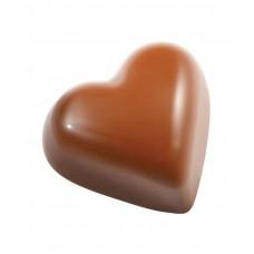 677643 Форма для шоколадных конфет - сердце, 34,7x22x16 мм, 35 ячеек Hendi