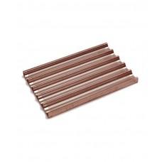 808245 Противень для багетов- 5 углублений, 600x400 мм - алюминий с силиконовым покрытием, перфорированный Hendi