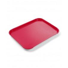 878910 Поднос Fast Food - средний 310х435 мм красный Hendi