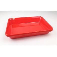 Купить с доставкой Блюдо для выкладки продуктов One Chef из меламина (300x190x55 мм), красное K6312 R