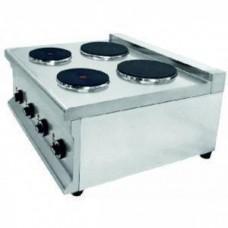 Профессиональная электрическая настольная плита CPE-650-4T Rauder