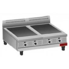 Плита электрическая профессиональная* Inox Electric 2SC/2E CERANE 600