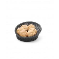 Купить 426579 Корзина для хлеба с закругленными углами черная ø310x(H)120 mm Hendi (Хенди)