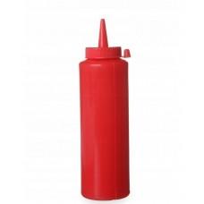558041 Диспенсер для соусов, 0,20 л красный - 3 шт, Hendi
