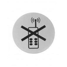 663653 Табличка информационная самоклеящаяся Для инвалидов, Ø75 мм Hendi