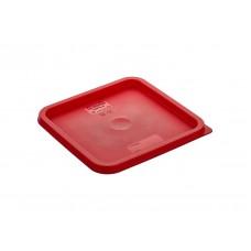 6LR Крышка для контейнера для продуктов из полипропилена на 5,7 л/7,6 л (красная) GastroPlast