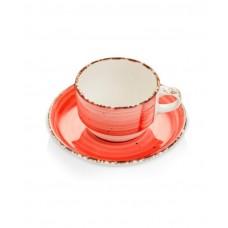 775011 Чашка с блюдцем Rubin 230 мл Fine Dine