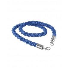 810460 Барьерный канат - синий с серебряными карабинами, 1500 мм Hendi