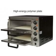 Профессиональная Печь для пиццы BRP2-4x25P Rauder