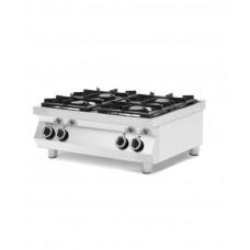 227381 Плита газовая 4-x конфорочная Kitchen Line, настольная Hendi