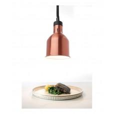 273890 Цилиндрическая лампа для подогрева блюд с регулируемой высотой - медная, 250 Вт Hendi