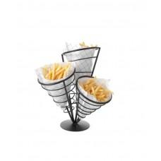 630921 Подставка для картофеля-фри - для 3 пакетов Hendi