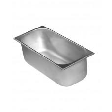 802045 Кювета для мороженого стальная 360x165x80 мм, 3,6 л Hendi