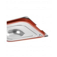 804339 Крышка Profi Line для GN 1/3 - с силиконовой прокладкой и выемками для ручек Hendi