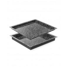 890356 Гастроемкость для пароконвектоматов GN 2/3 20 мм - эмалированная Hendi