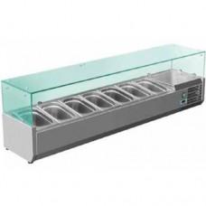 Витрина холодильная (витрина для топинга) SRV 1500/330 Rauder