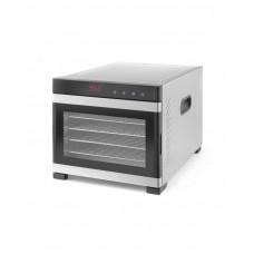 229033 Сушилка для пищевых продуктов Profi Line - цифровая панель управления, 6 полок, 340x450x311 мм Hendi
