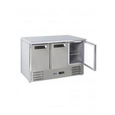Купить 236147 Hendi (Хенди) 3-дверный холодильный стол с рабочей поверхностью и нижней частью,полка 1+1+1 x GN1/1 (333x560)