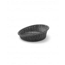Купить 426593 Корзина для хлеба с закругленными углами черная ø370x(H)120 mm Hendi (Хенди)