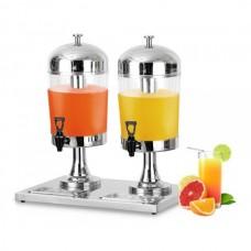 Диспенсер для сока и холодных напитков двойной ZCF302 Rauder