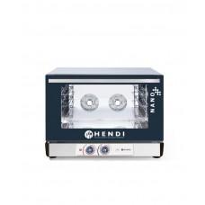 223338 Конвекционная печь с пароувлажнением HENDI NANO - 4x 600x400 мм, ручное управление, однофазный Hendi