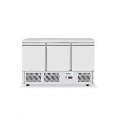 232026 Стол холодильный 3-дверный с нижним расположением агрегата Hendi