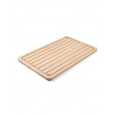 505403 Доска деревянная двухсторонняя для хлеба + традиционная, 530x325x20 мм Hendi