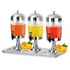 Диспенсер для сока и холодных напитков тройной ZCF303 Rauder