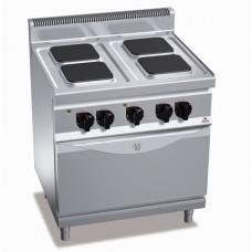 Плита электрическая профессиональная Bertos E7PQ4+FE1