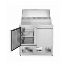 232880 Стол холодильный саладетта - 2-дверный, с надставкой Hendi